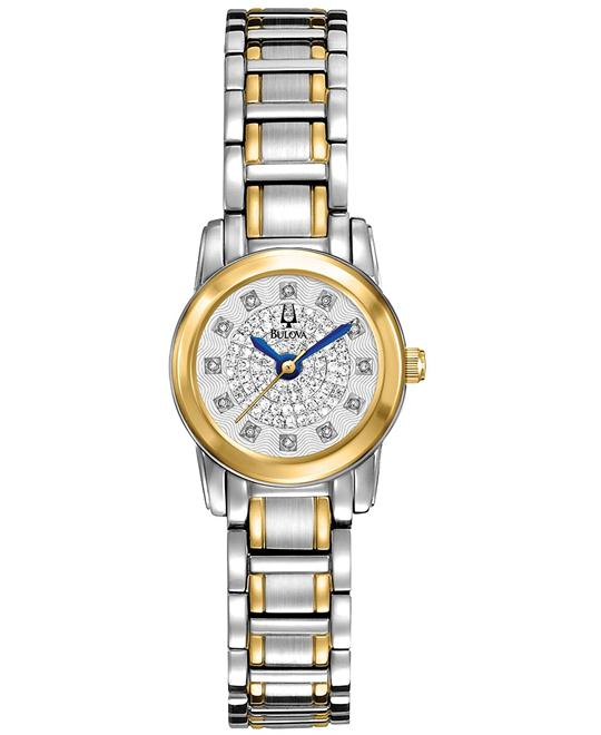 Bulova Women's Diamond Watch 21mm