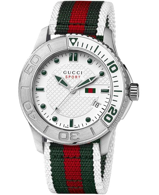 Gucci G Timeless   Men's Nylon watch 44mm