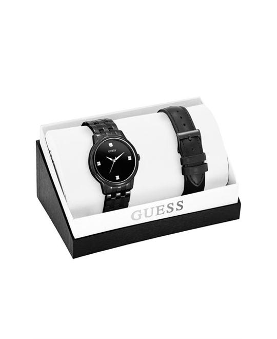 GUESS Classic Diamond Men's Watch Set 40mm