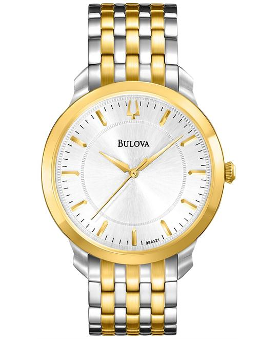 Bulova Men's Classic Two Tone Round Watch 41mm