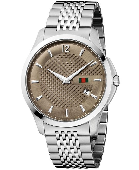 đồng hồ Gucci G-Timeless Men's Stainless Steel Watch 40mm