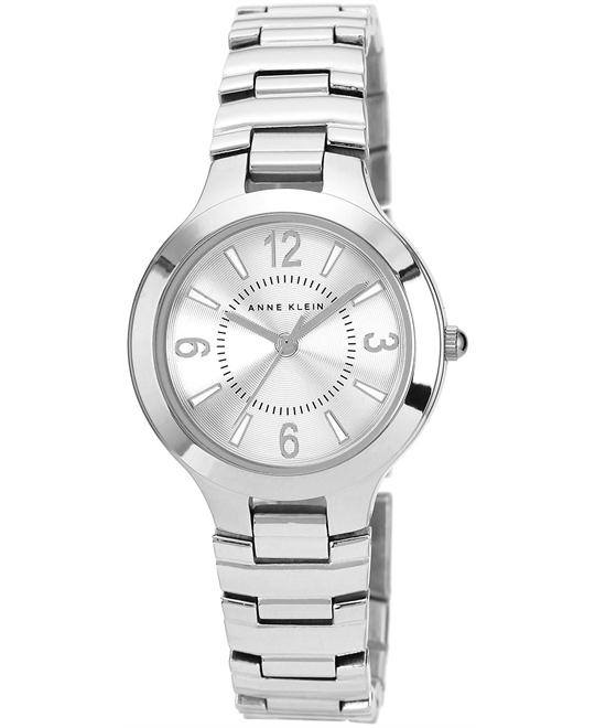Anne Klein Watch, Women's Silver-Tone Bracelet 32mm