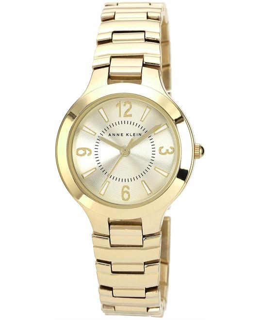 Anne Klein Watch, Women's Gold-Tone Bracelet 32mm