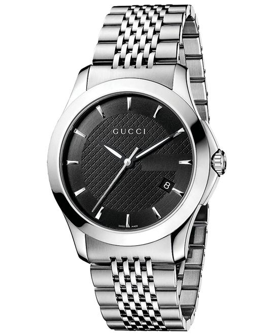 Gucc G-Timeless   Men'sStainless Steel Watch 38mm