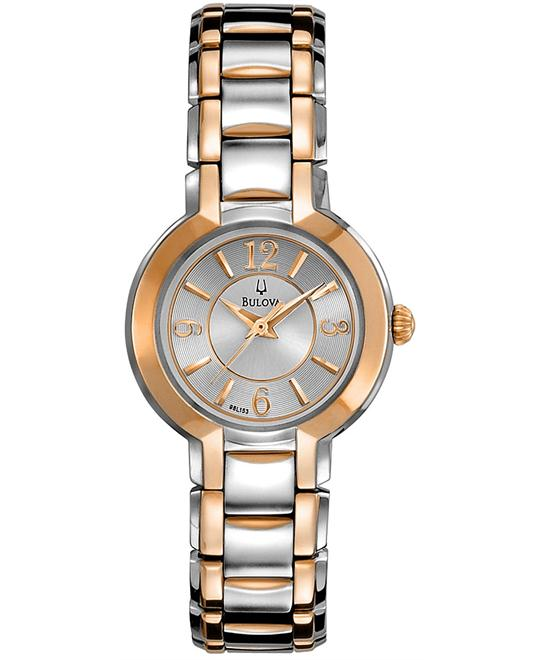 Bulova Women's Two Tone Watch 27mm