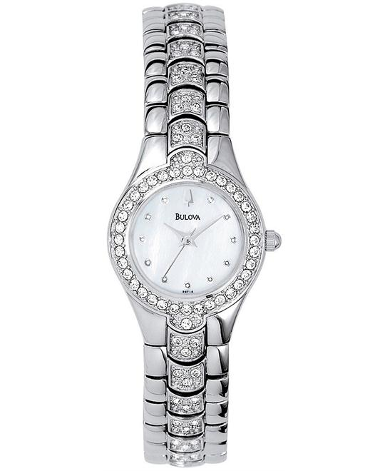 Bulova Women's Crystal Watch 22mm