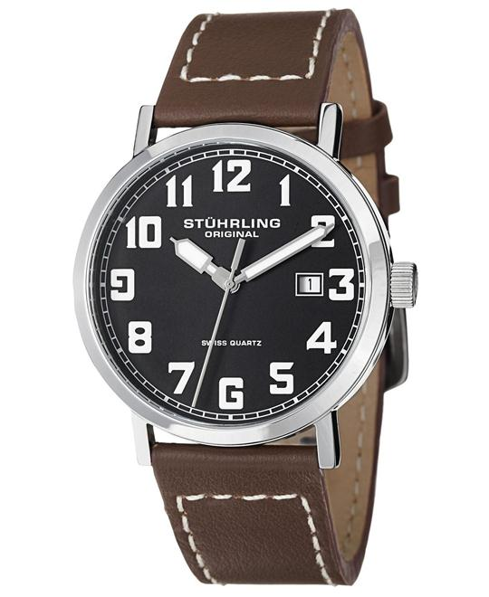 Stuhrling Original 554.3315K1 Men's Swiss Watch 42mm