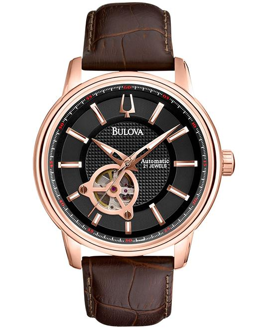 Bulova Men's Automatic Series 160 Mechanical Watch 45mm