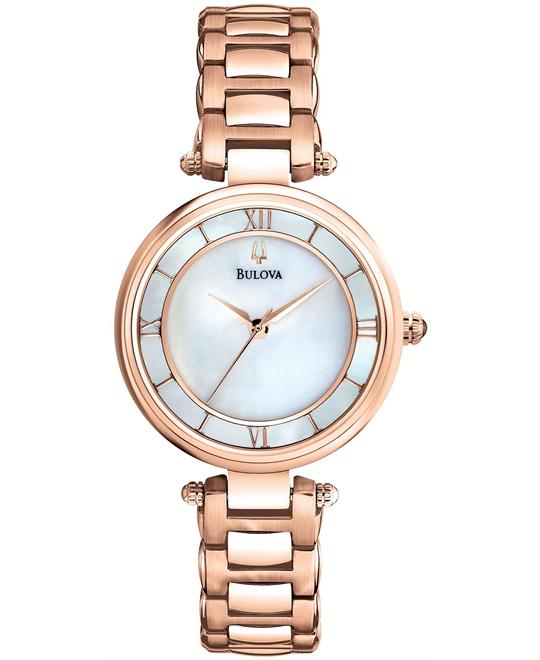 Bulova Women's Gold-Tone Watch 29mm