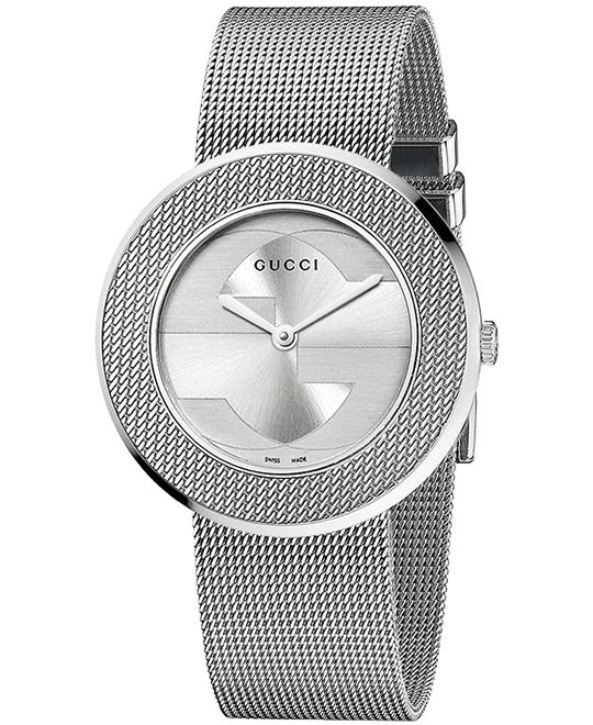 Gucci U-play  Swiss Mesh Women's Watch 35mm