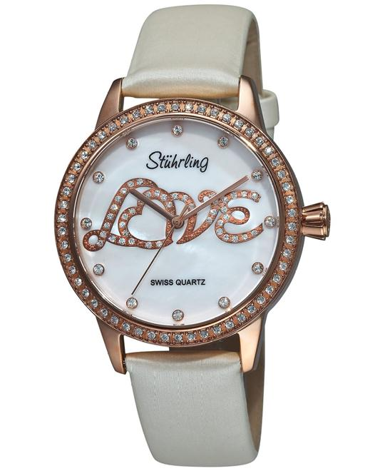 Stuhrling Original 519L.1145P7 Women's Swiss 37.9mm