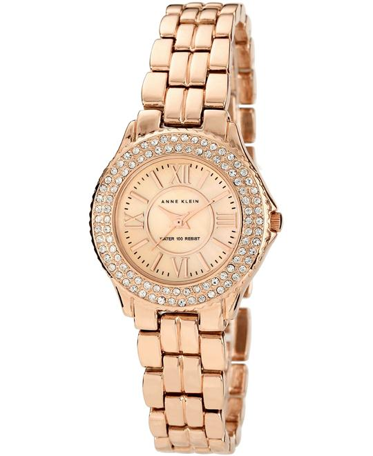 Anne Klein Watch Rose Gold-Tone Bracelet 28mm