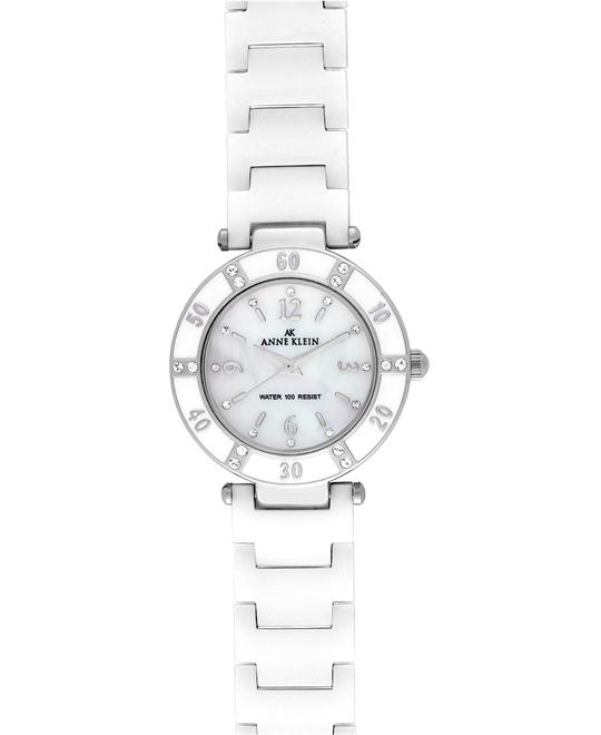 Anne Klein Watch, Women's White Ceramic Bracelet 24mm