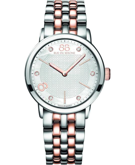 88 Rue du Rhone Double 8 Origin Ladies Watch 35mm
