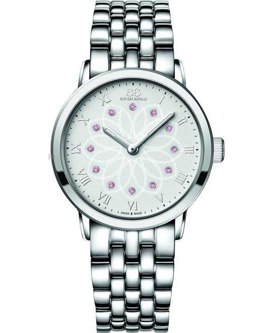 88 Rue Du Rhone Mother of Pearl Dial Ladies Watch 38mm