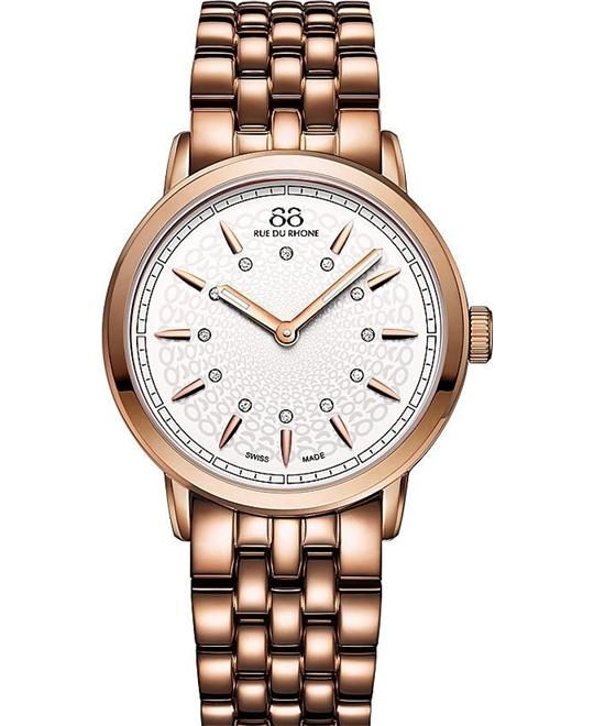 88 Rue du Rhone Women's Swiss Quartz Watch 35mm