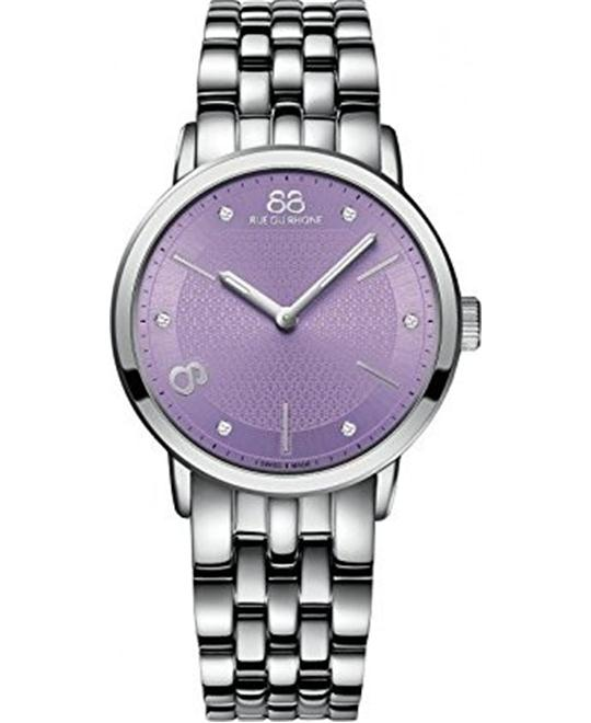 88 Rue du Rhone Women's Swiss Watch 35mm