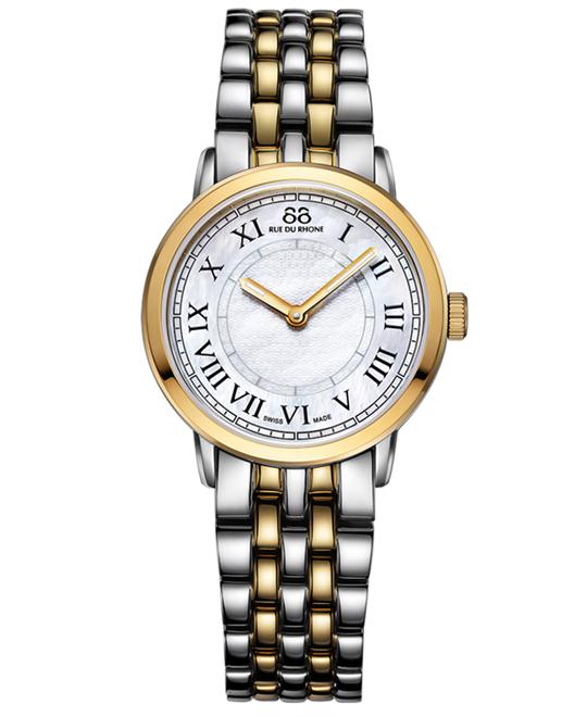 88 Rue du Rhone Women's Swiss Quartz Watch 29mm