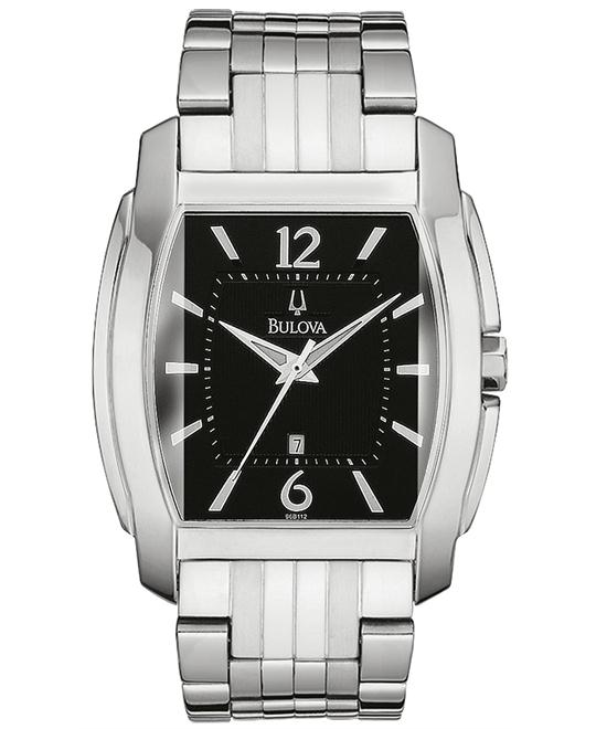 Bulova Men's Bracelet Black Watch 38mm