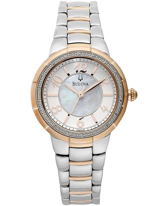 Bulova Women's Diamond Two-Tone, 34mm