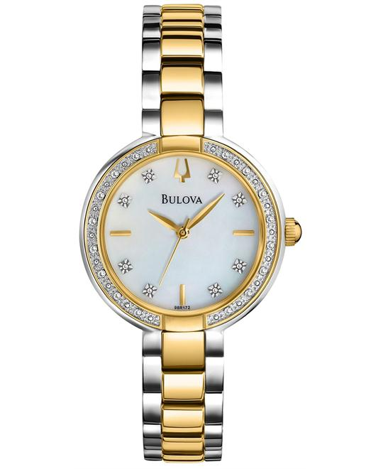 Bulova Women's 24 Diamonds Watch 29mm