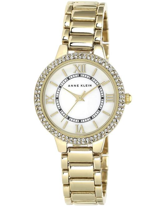 Anne Klein Women's Gold Bracelet Watch 33mm