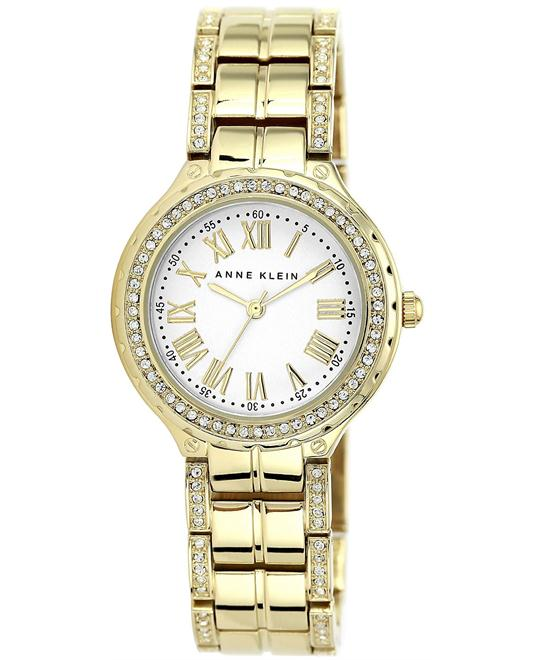 Anne Klein Women's Crystal Gold Watch 32mm