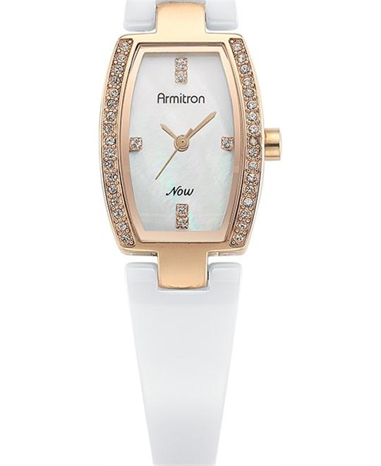 Armitron Women's Swarovski Ceramic Watch, 20mm