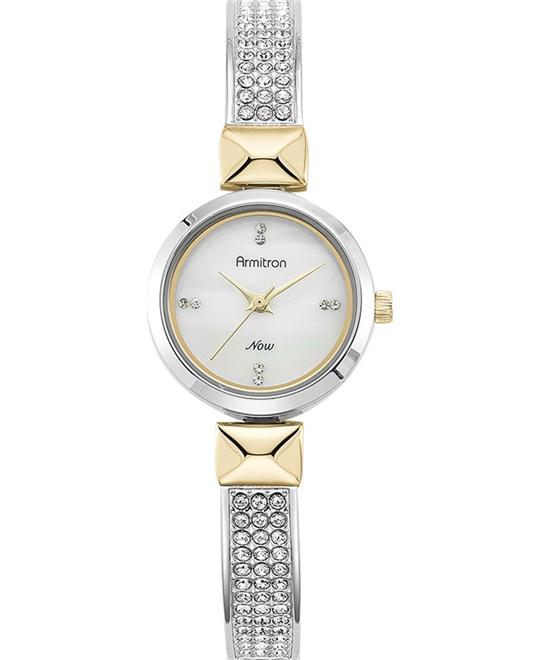 Amitron Women's Swarovski Two-Tone, 24mm