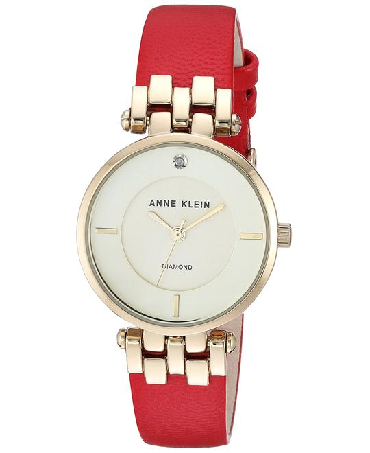 Anne Klein Accented Gold-Tone Watch 28mm