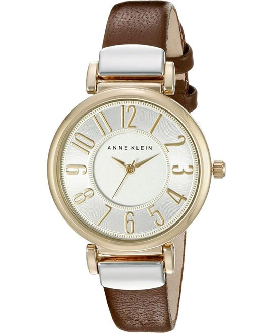 Anne Klein Easy To Read and Brown Watch 30mm