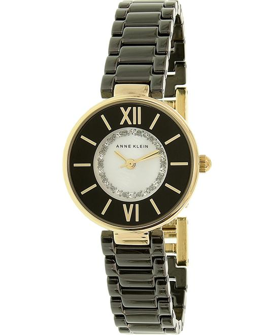 Anne Klein Swarovski Crystal Ceramic Women's Watch 26mm