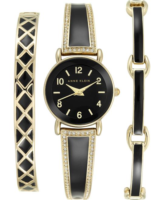 Anne Klein Swarovski Crystal Women's Watch 24mm