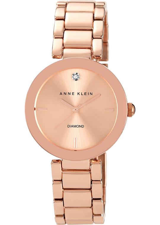 Anne Klein Watch Women's Diamond Rose Gold 32mm