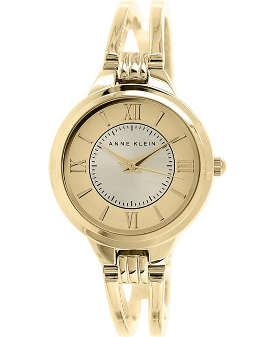 Anne Klein Watch, Women's Gold-Tone Bangle 29mm