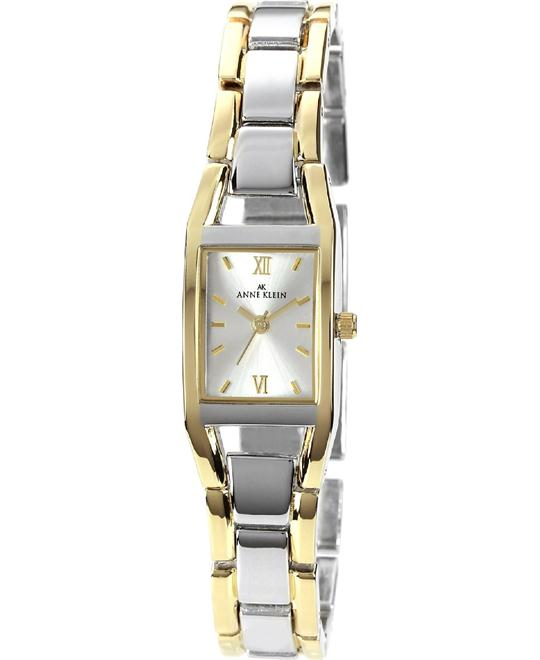 Anne Klein Watch, Women's Two Tone Bracelet 17mm