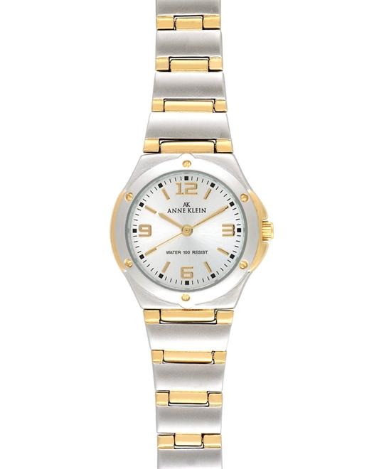 Anne Klein Watch, Women's Two Tone Bracelet 28mm