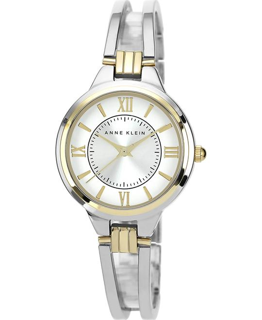 Anne Klein Watch, Women's Two-Tone Bracelet 29mm