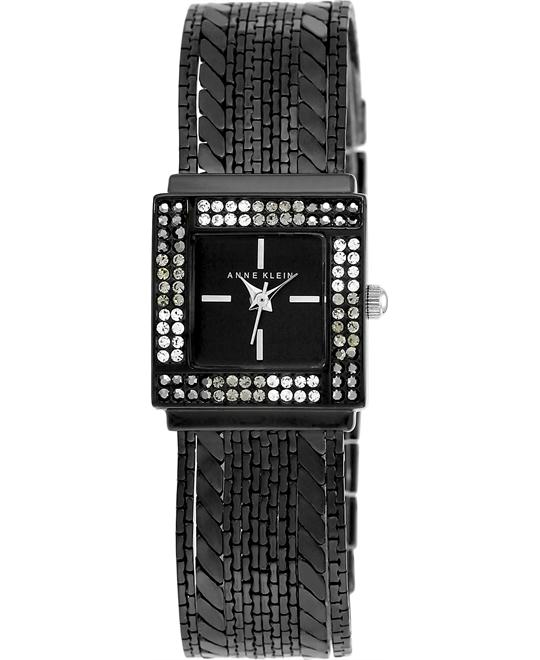 Anne Klein Women's Black Multi-Chain Bracelet Watch 22mm