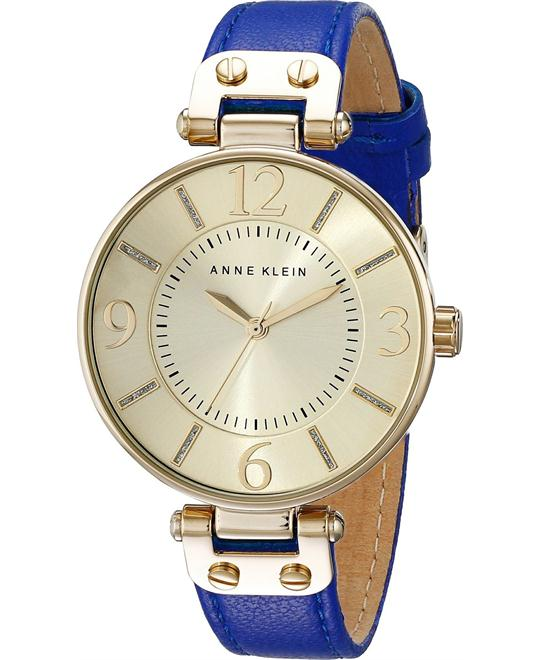 Anne Klein Women's Cobalt Blue Watch 34mm