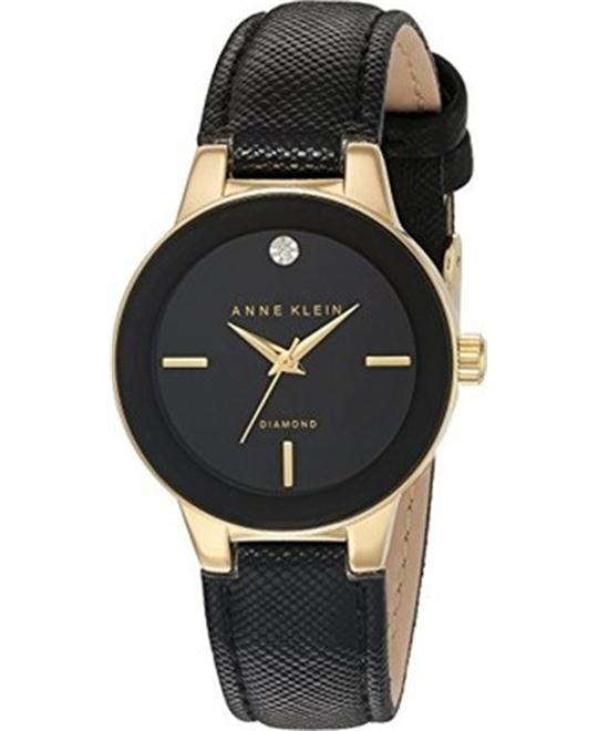 Anne Klein Women's Diamond-Accented Watch 30mm