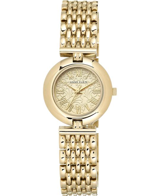 Anne Klein Women's Gold-Tone Adjustable Watch 27mm