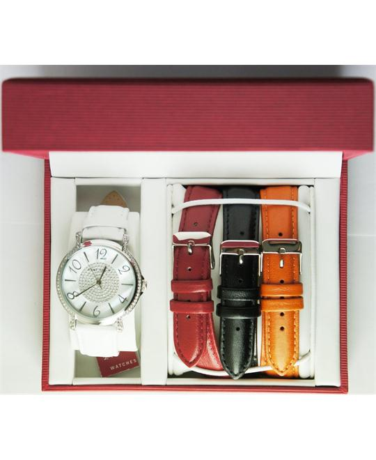Anne Klein Women's Interchangeable Box Set Watch 36mm