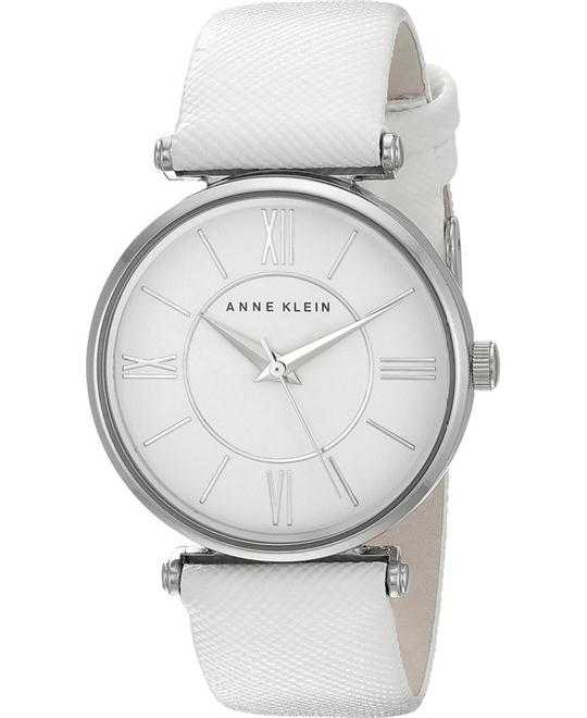 Anne Klein Women's Japanese Quartz White Watch 34mm