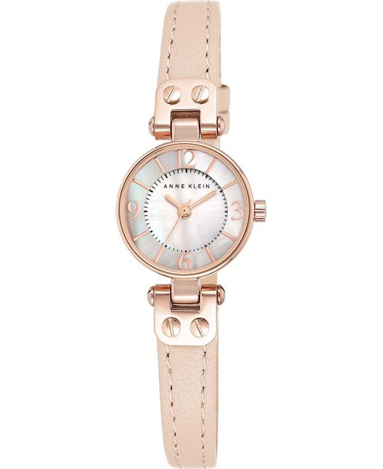 Anne Klein Women's Rose Gold-Tone Watch 22mm