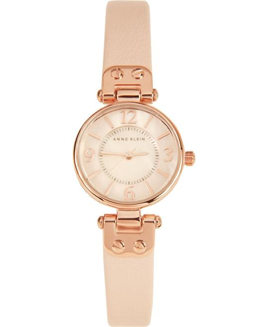 Anne Klein Women's Rose Gold-Tone Watch 26mm