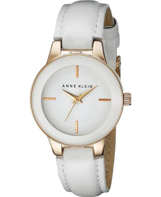 Anne Klein Women's Rose Gold-Tone Watch 30mm