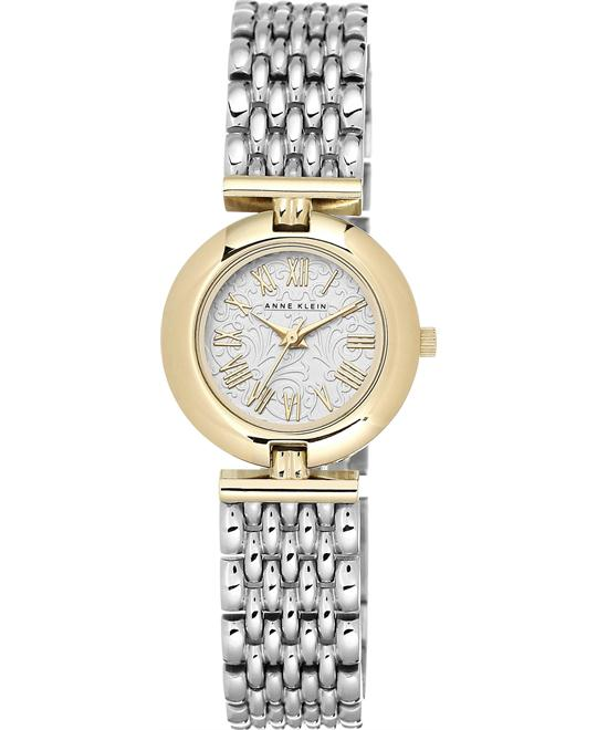 Anne Klein Women's Silver Adjustable Watch 27mm