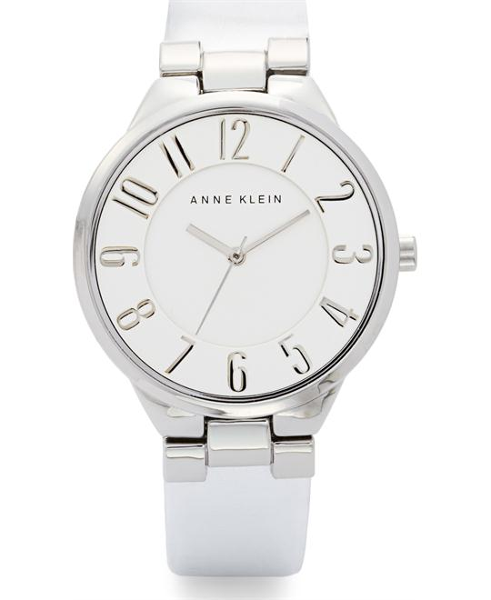 Anne Klein Women's Silver- Metallic Watch, 34mm