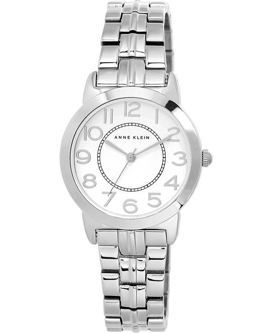 Anne Klein Women's Silver-Tone Watch 32mm